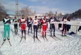 У Саткинского горно-керамического колледжа 1 место на соревнованиях по лыжным гонкам