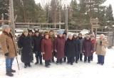 Пенсионеры Сатки побывали на Ледяном фонтане