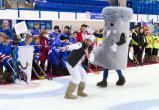 Воспитанники бакальского детдома сыграли в хоккей в валенках