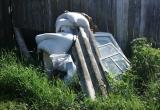 Вчера, 10 июня, с улицы Айской посёлка Межевого впервые за полгода вывезли мусор