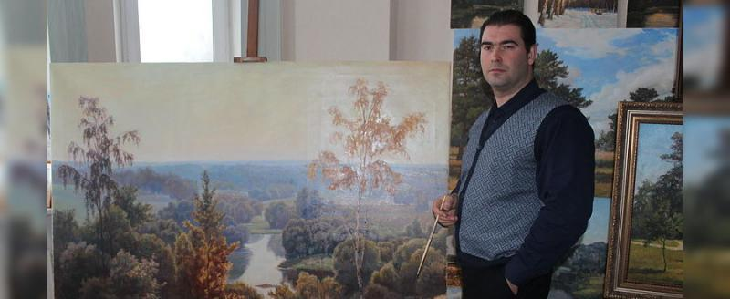 «Воспевая красоту России»: в Сатке пройдёт выставка художника-пейзажиста
