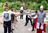 Юные воспитанники реабилитационного центра Саткинского района приняли участие в «Рыцарском турнире»
