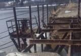 «Небезопасная «достопримечательность»: вопрос с ремонтом моста на пруду в Бакале по-прежнему открыт