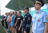 «Сменили форму»: полицейские Саткинского района приняли участие в футбольном матче