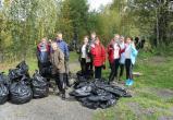 «Первым делом – сортировка!»: юные бакальцы очистили берег городского пруда от мусора