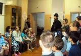 «Добрый визит»: воспитанники реабилитационного центра Саткинского района посетили пациентов больницы