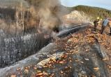 «Фура горела, морковь валялась на дороге»: подробности ДТП, в котором погиб житель Сатки