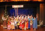 Артисты из центра славянской культуры из Межевого показали Новогоднее представление на главной епархиальной ёлке